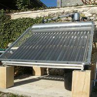 Chauffage solaire maison schma cesi optimis exemple de for Chauffage piscine solaire fait maison